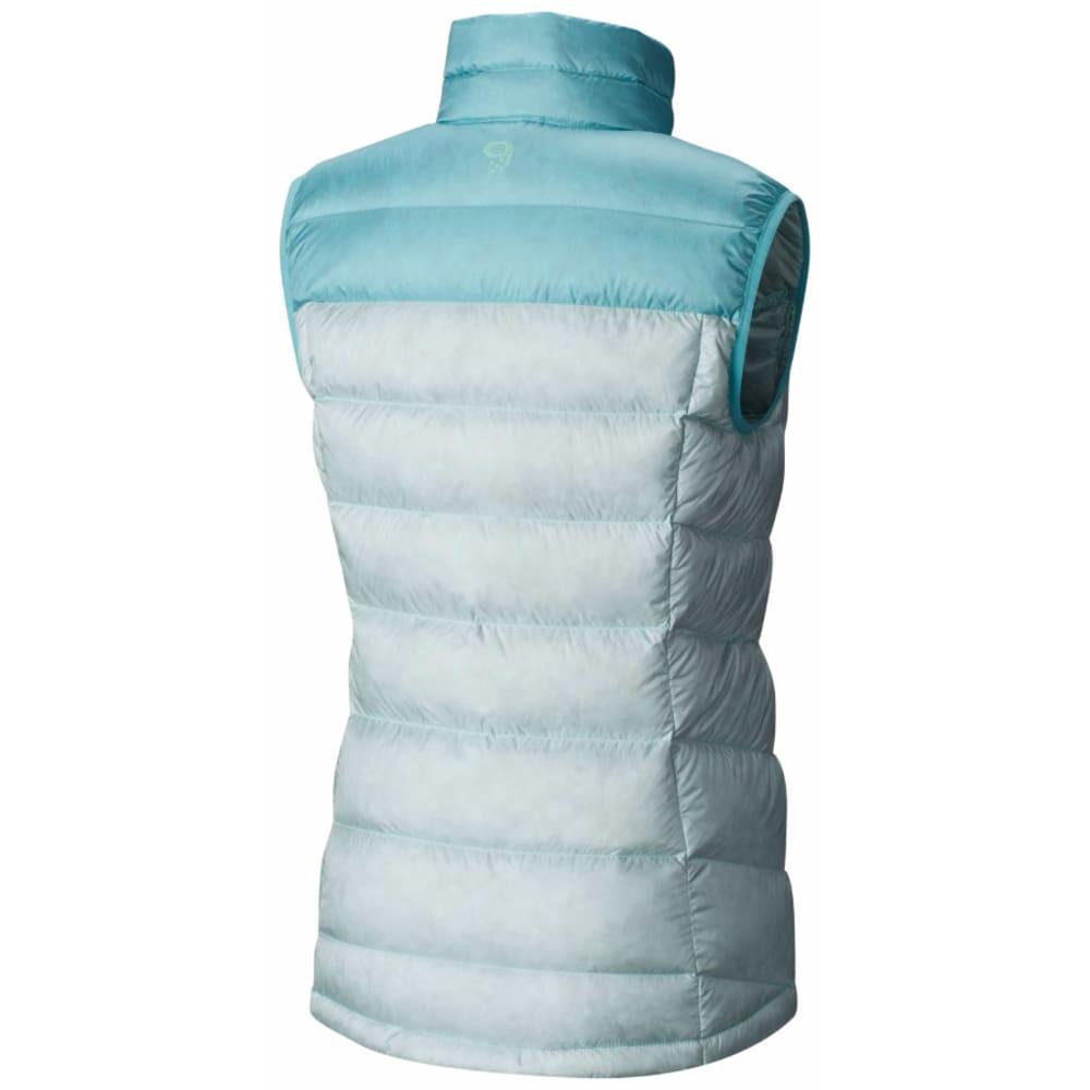 MOUNTAIN HARDWEAR Women's Ratio Down Vest - 329-GOSSAMER BLUE SP