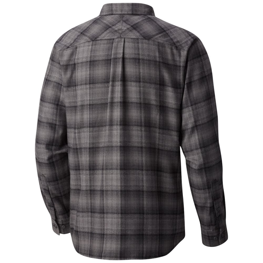 COLUMBIA Men's Silver Ridge™ Flannel Long-Sleeve Shirt - BLK OMBRE-012