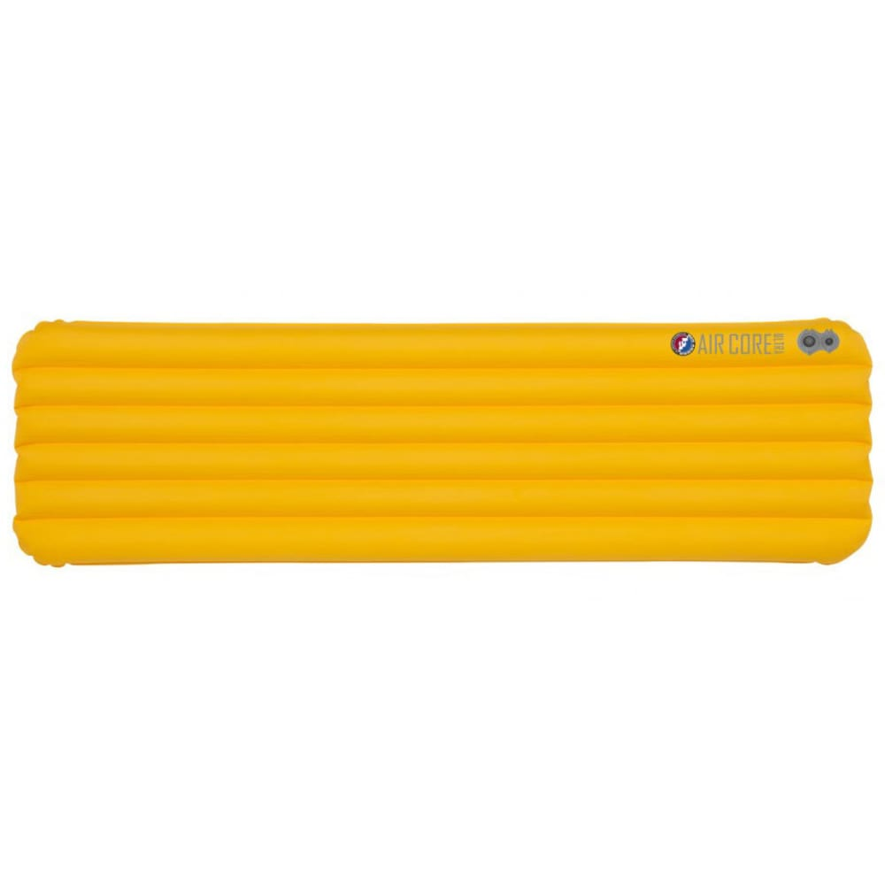 BIG AGNES Air Core Ultra Sleeping Pad, Wide Regular - YELLOW