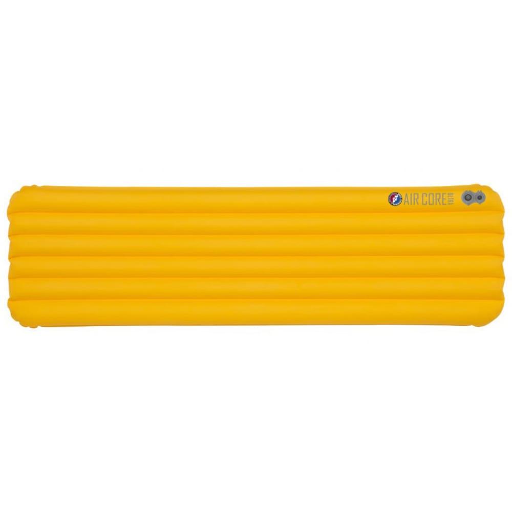 BIG AGNES Air Core Ultra Sleeping Pad, Wide Regular - YELLOW
