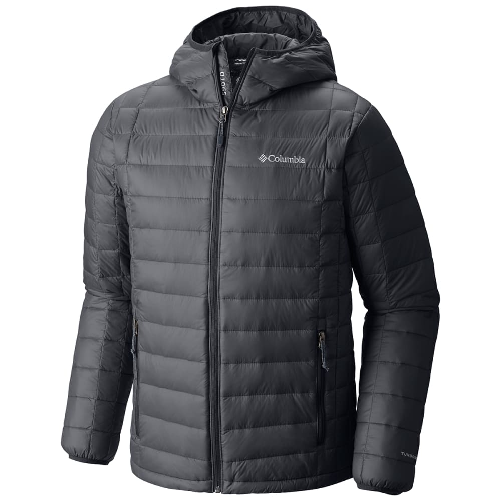 COLUMBIA Men's Voodoo Falls 590 Turbodown™ Hooded Jacket - 053-GRAPHITE