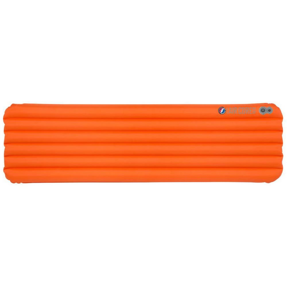BIG AGNES Insulated Air Core Ultra Sleeping Pad, Wide Regular - ORANGE