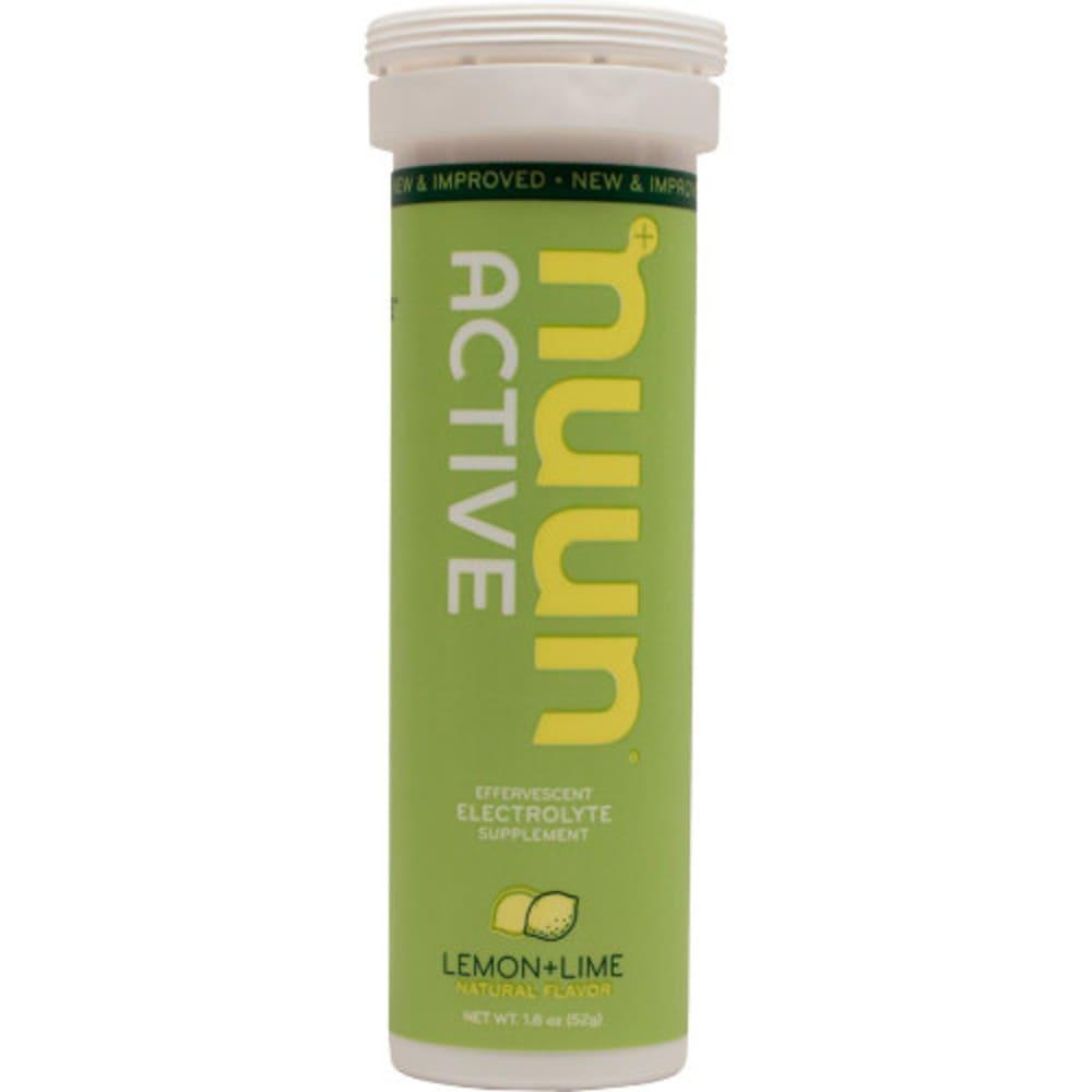NUUN Active Effervescent Electrolyte Supplement - LEMON LIME