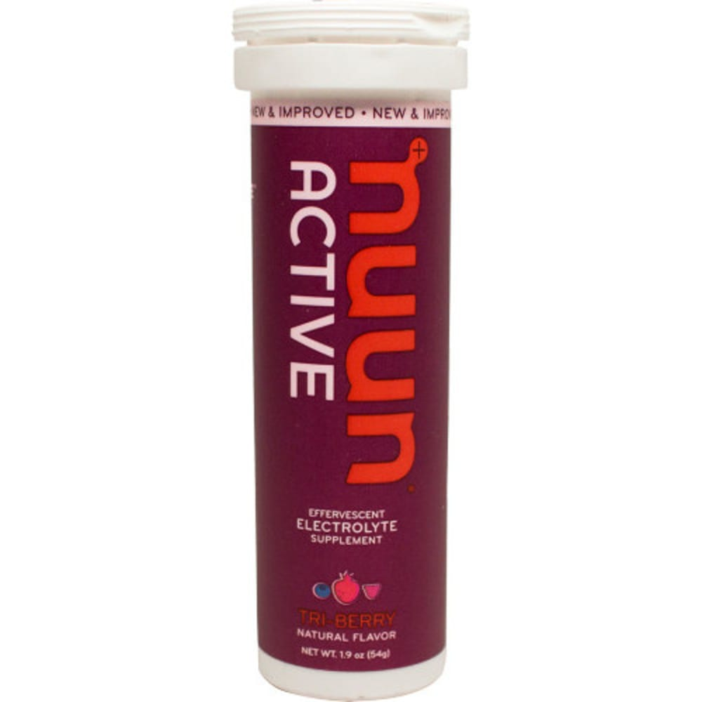 NUUN Active Effervescent Electrolyte Supplement - TRI-BERRY
