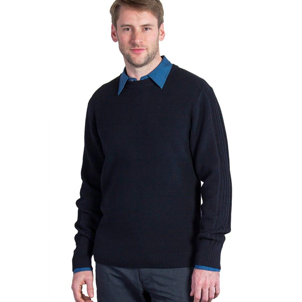EX OFFICIO Men's Teplo Crew Sweater - 9999-BLACK