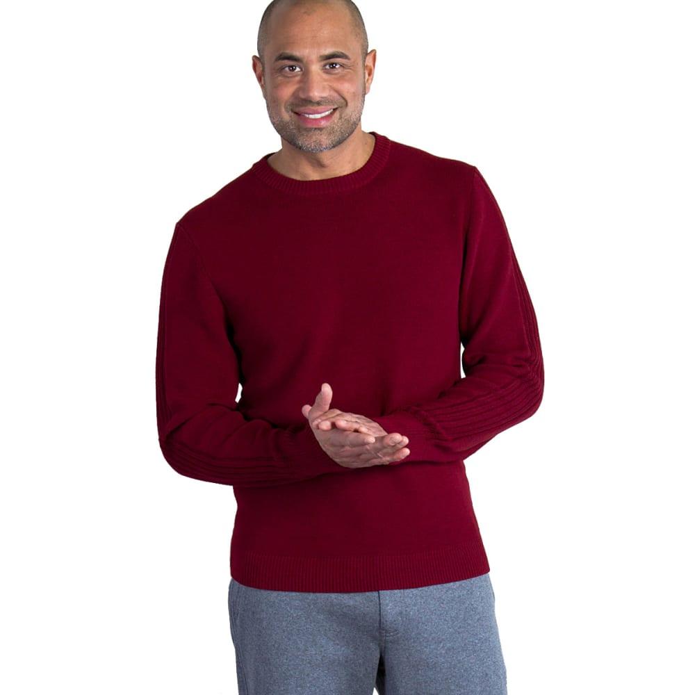 EX OFFICIO Men's Teplo Crew Sweater - 3485-CLARET