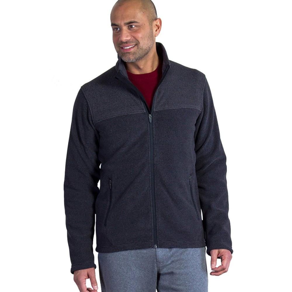 EX OFFICIO Men's Vergio Full-Zip Fleece - 9999-BLACK