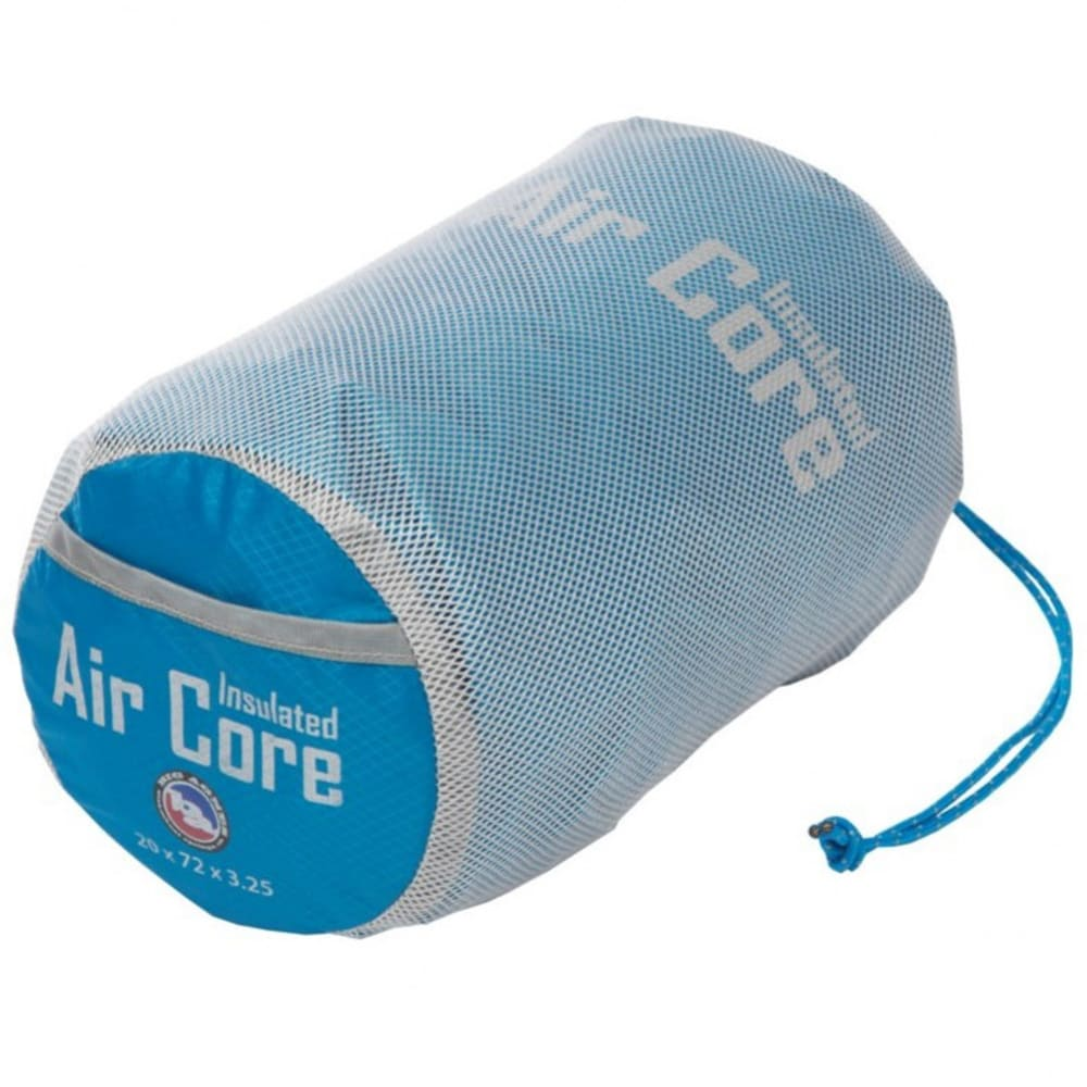 BIG AGNES Insulated Air Core Long Sleeping Pad - BLUE/GREY
