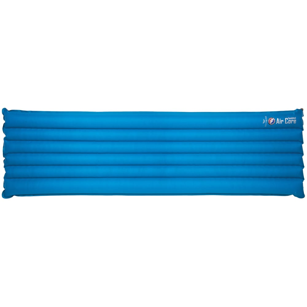 BIG AGNES Insulated Air Core Long Sleeping Pad - BLUE/GREY