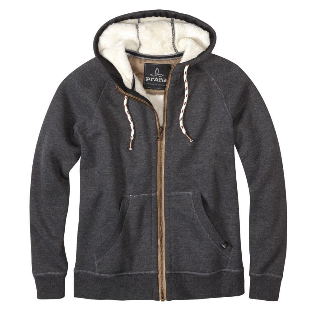 PRANA Men's Lifestyle Full Zip Jacket - BLACK