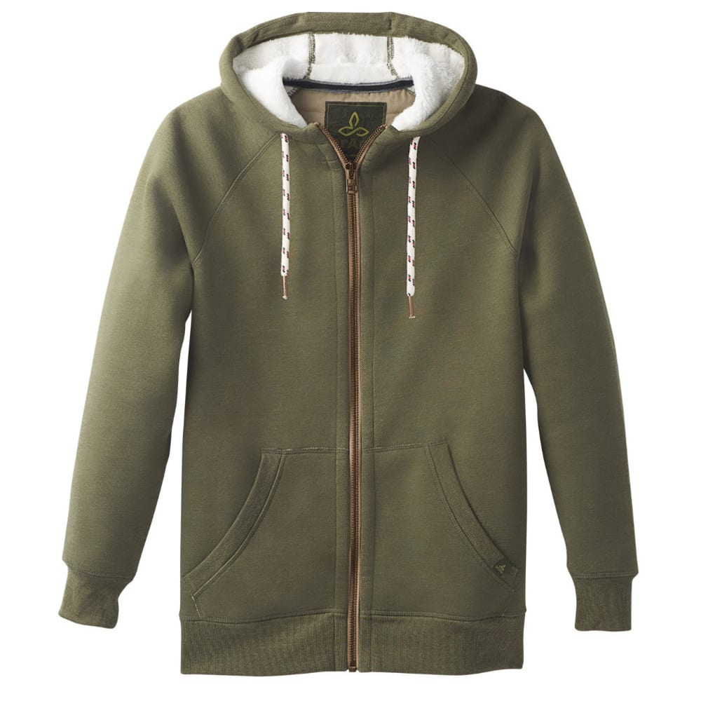 PRANA Men's Lifestyle Full Zip Jacket - CARGO GREEN