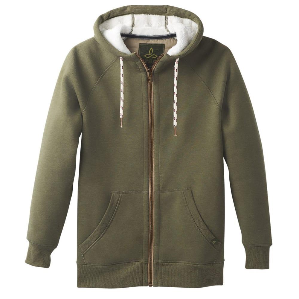 Prana Men's Lifestyle Full Zip Jacket - Green - Size XL M2LISH316