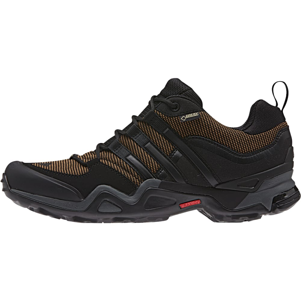 ADIDAS Men's Fast X Gore-tex Shoes, Earth - EARTH/BLACK/V GREY