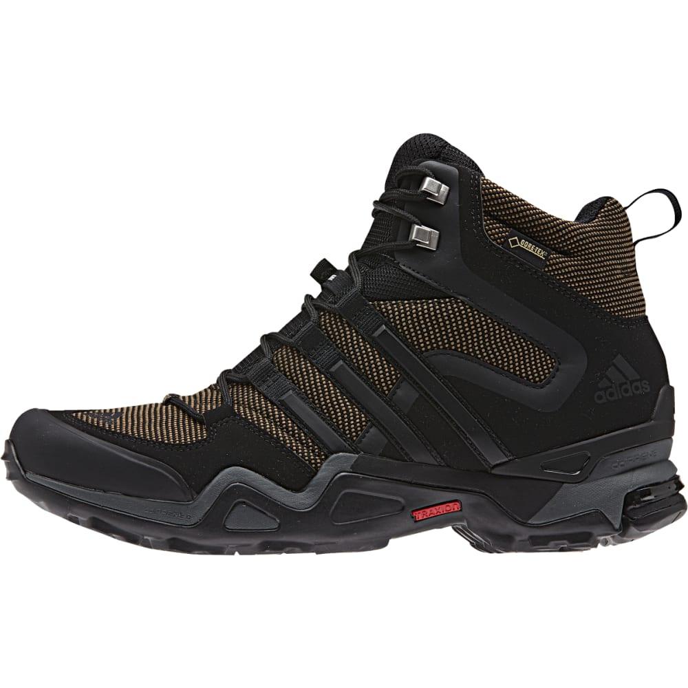 ADIDAS Men's Fast X High GTX Shoes, Earth - EARTH/BLACK/V GREY