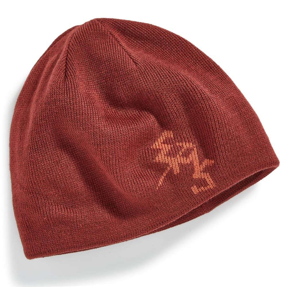 EMS® Ice Axe Reversible Beanie - HOT SAUCE/RUSST BRN