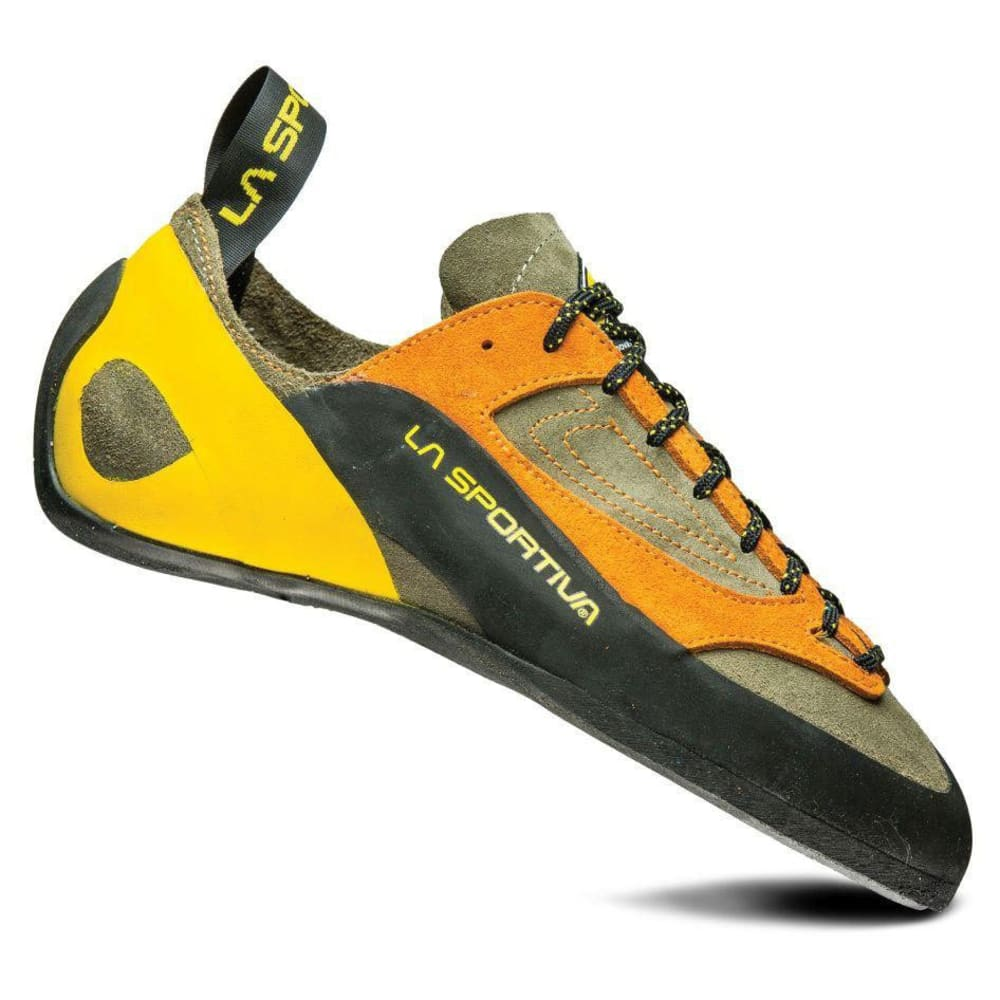 LA SPORTIVA Men's Finale Climbing Shoes - BROWN/ORANGE