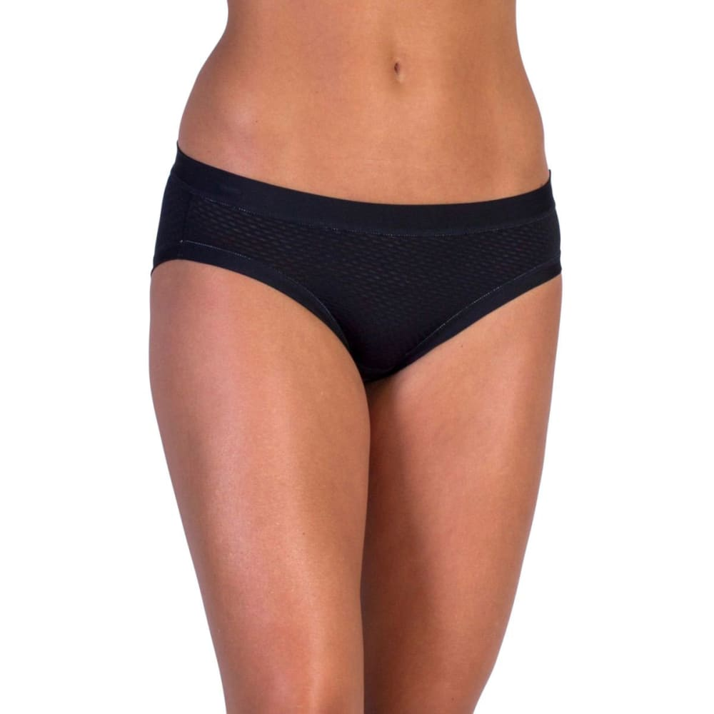 EXOFFICIO Women's Give-N-Go Sport Mesh Bikini Briefs  - BLACK-9999