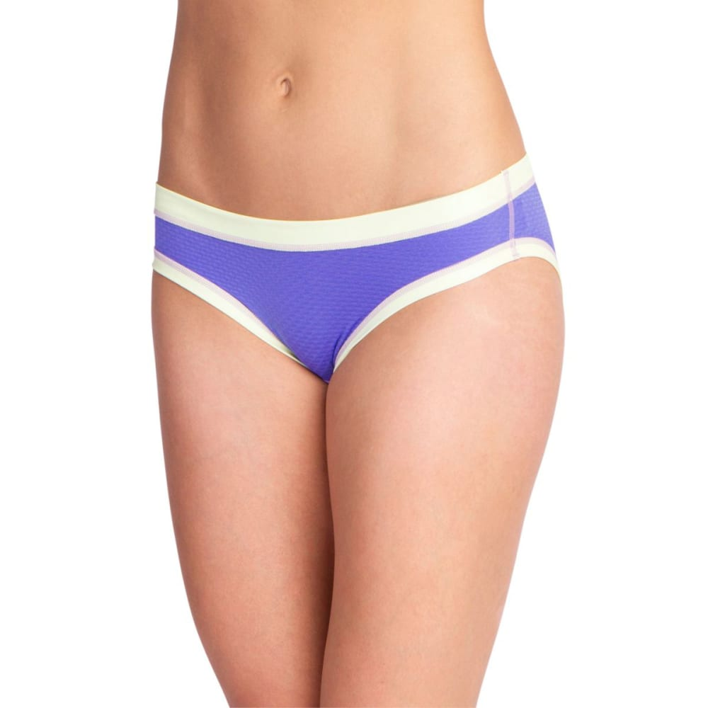 EXOFFICIO Women's Give-N-Go Sport Mesh Bikini Briefs - BLUE IRIS