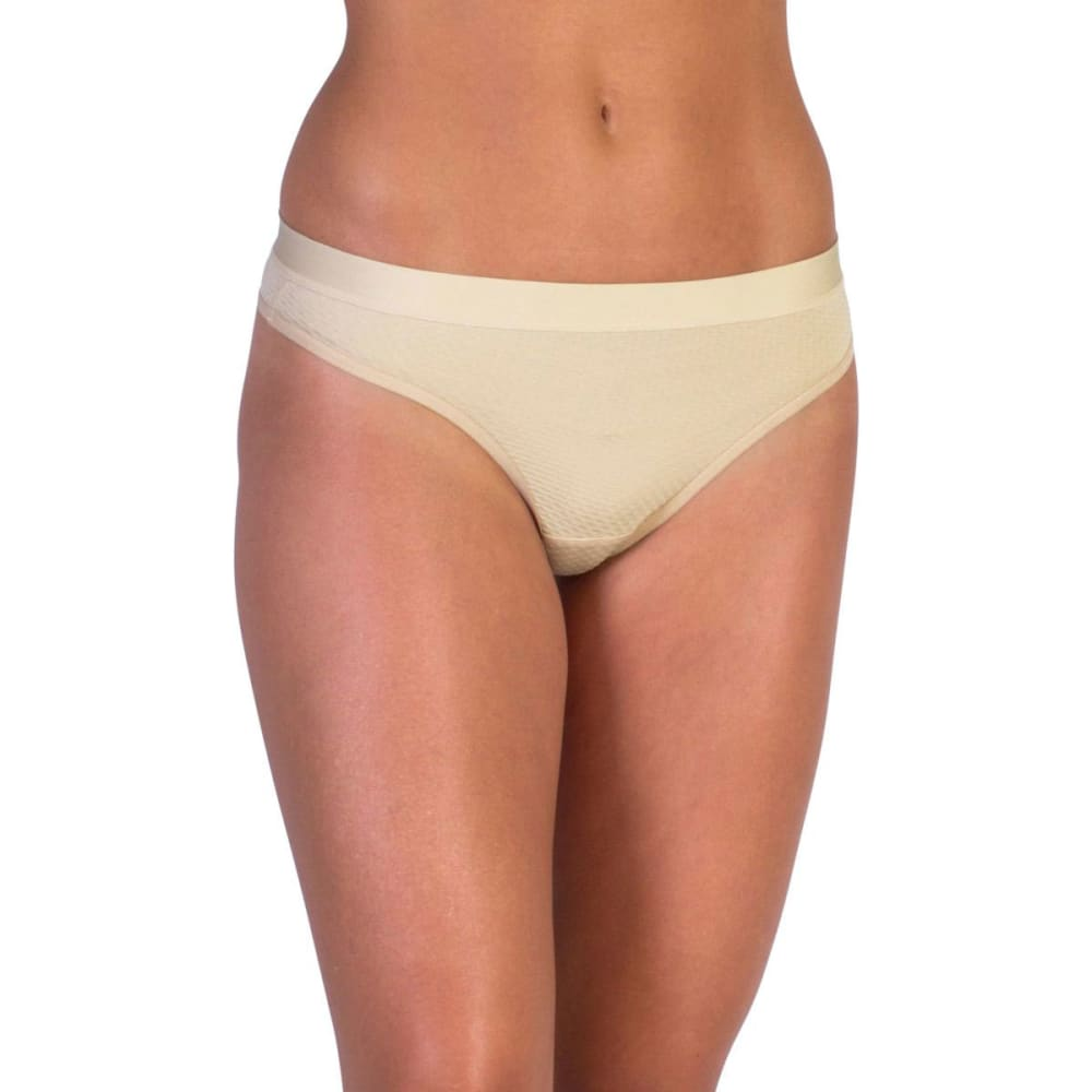 EXOFFICIO Women's Give-N-Go Sport Mesh Thong  - NUDE-8010