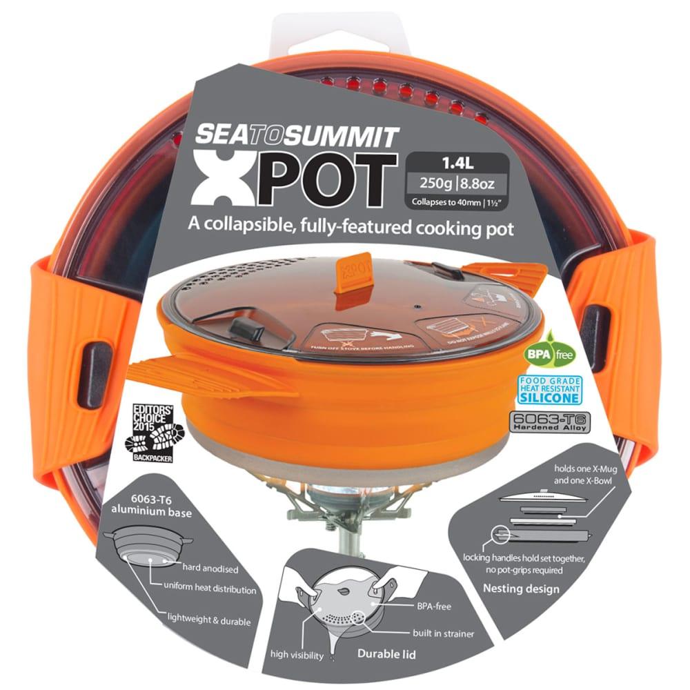 SEA TO SUMMIT 1.4 Liter X-Pot - ORANGE