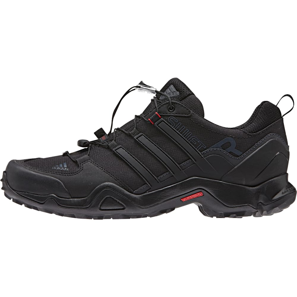 ADIDAS Men's Terrex Swift Shoes, Black - BLACK/P RED/D GREY