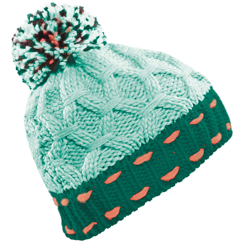 SEIRUS Women's Heatwave Bricks Beanie - TEAL