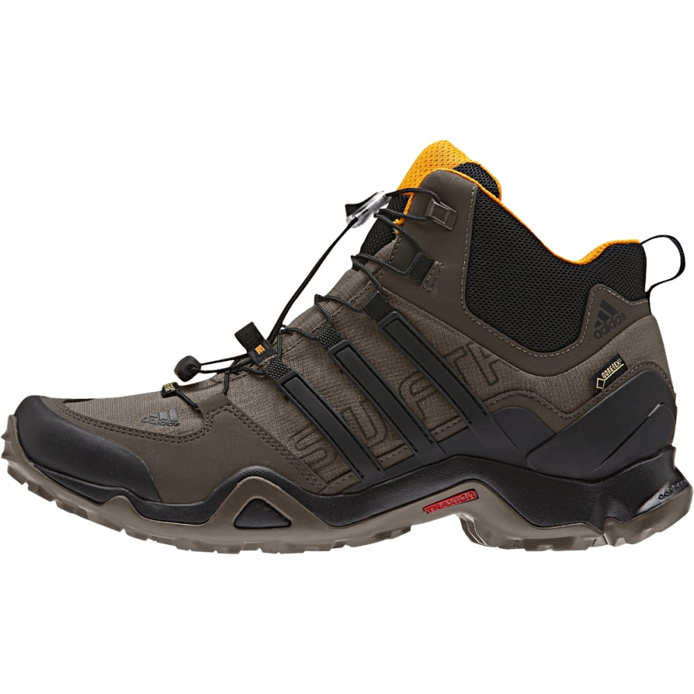 ADIDAS Men's Terrex Swift Mid GTX Shoes - BRANCH/BLACK/UMBER