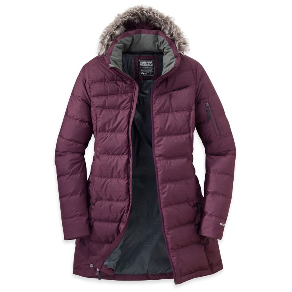 OUTDOOR RESEARCH Women's Fernie Down Parka - PINOT