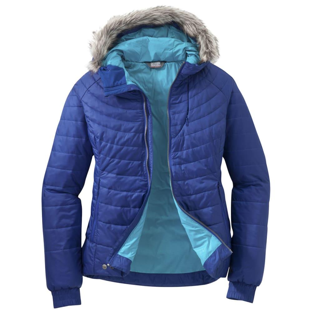 OUTDOOR RESEARCH Women's Breva Jacket - BALTIC/TYPHOON
