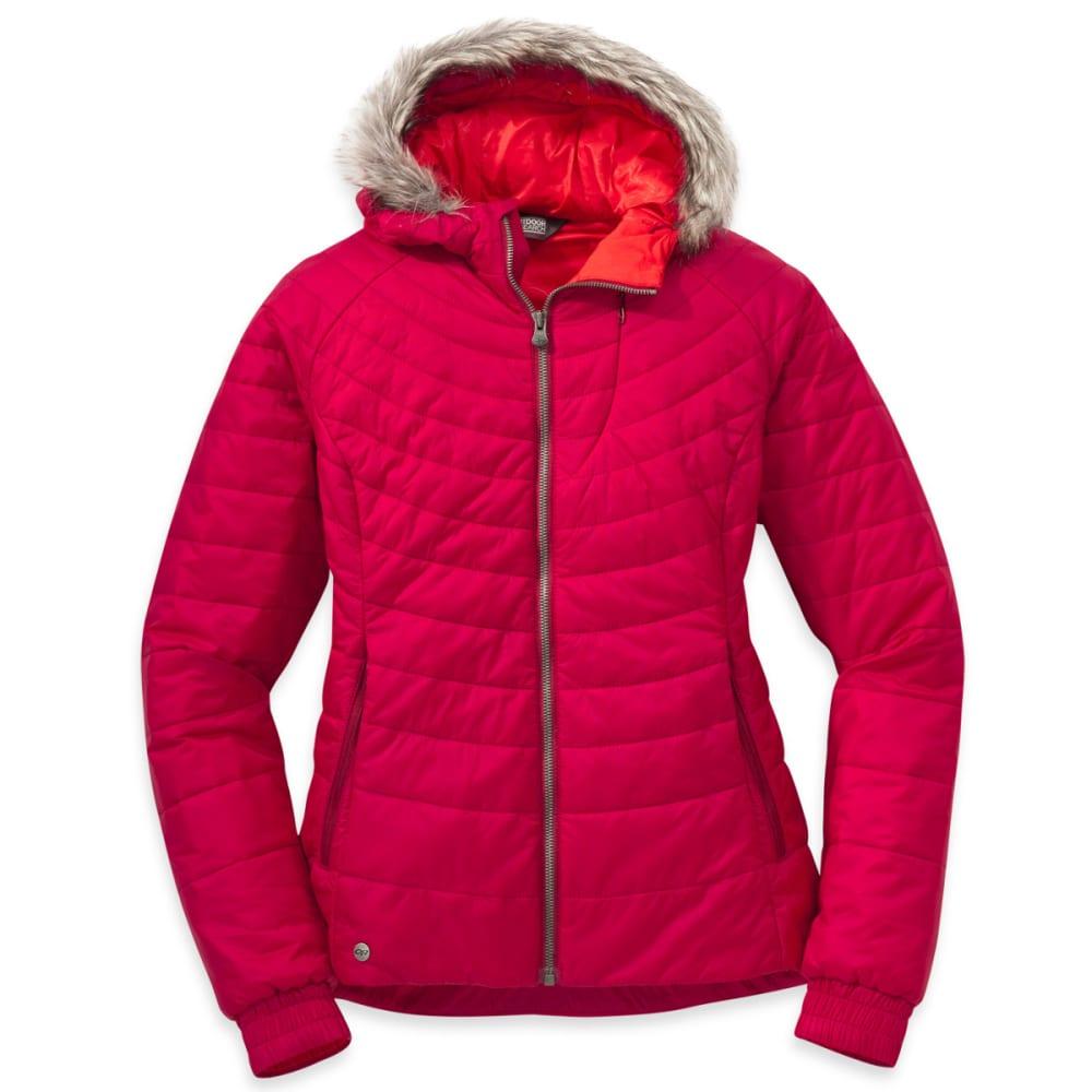 OUTDOOR RESEARCH Women's Breva Jacket - SCARLET/FLAME