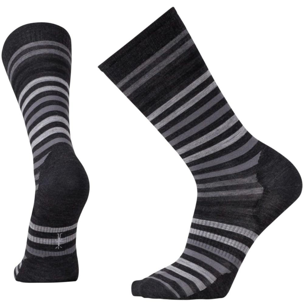 SMARTWOOL Men's Spruce Street Crew Socks - CHARCOAL-010