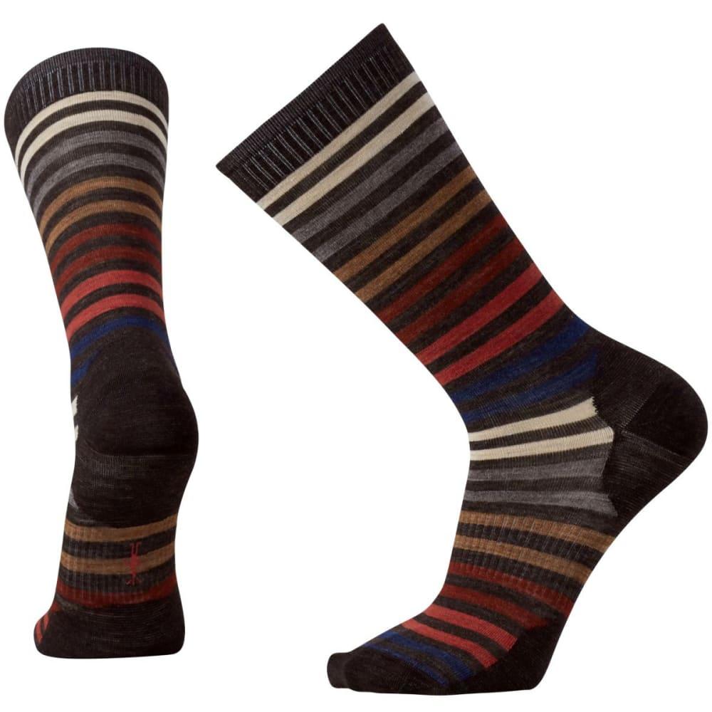 SMARTWOOL Men's Spruce Street Crew Socks - CHESTNUT-207