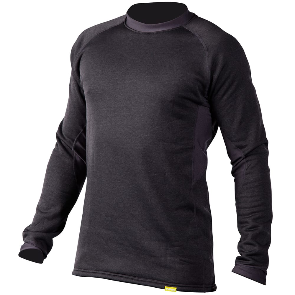 NRS Men's H2Core Expedition Weight Shirt - CHARCOAL HEATHER