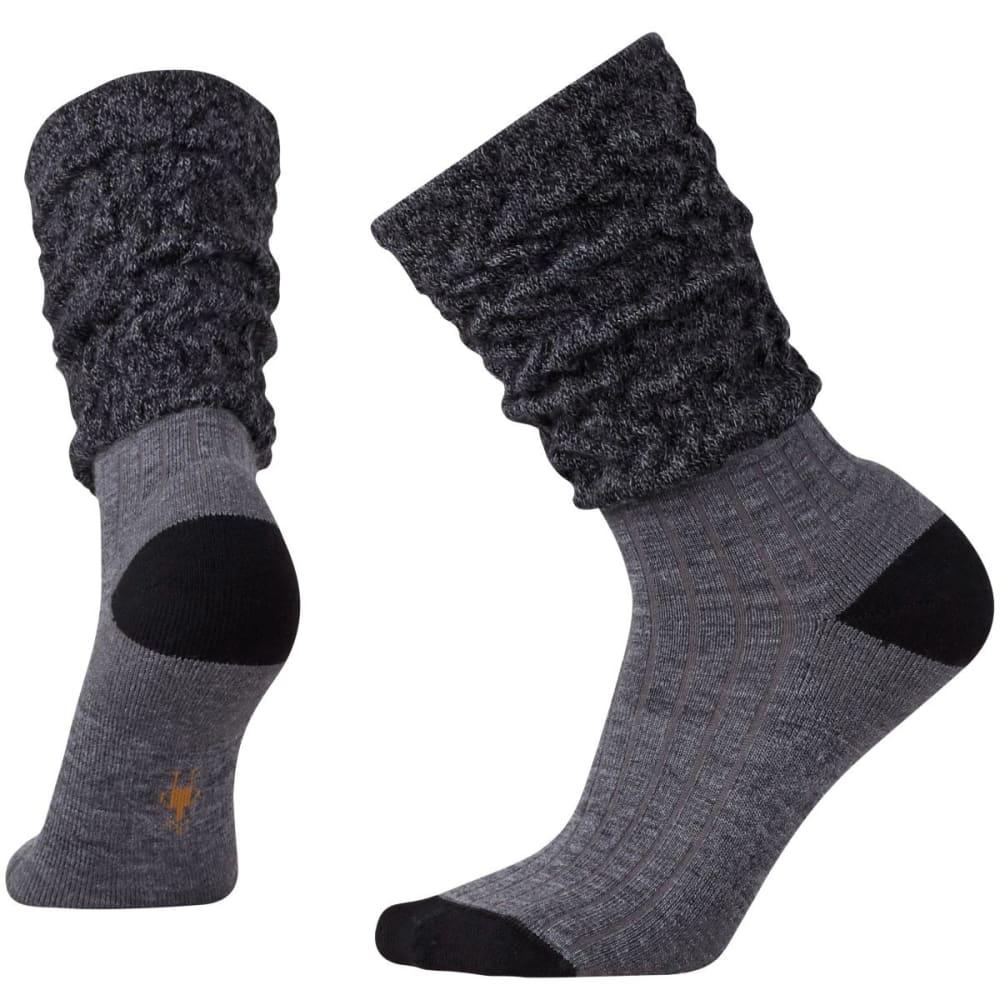 SMARTWOOL Women's Short Boot Slouch Socks - MED GRAY HTR-052