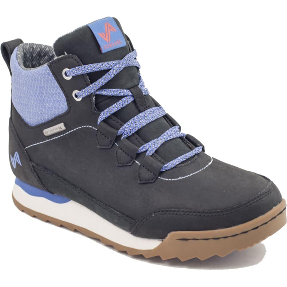 FORSAKE Women's Loop Boots, Black/Periwinkle - Eastern Mountain Sports