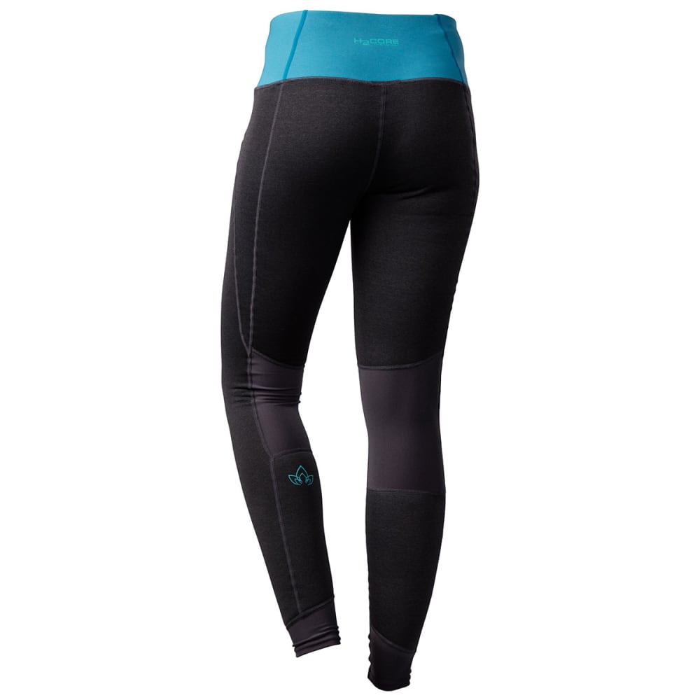 NRS Women's H2Core Expedition Weight Pants - CHARCOAL HEATHER