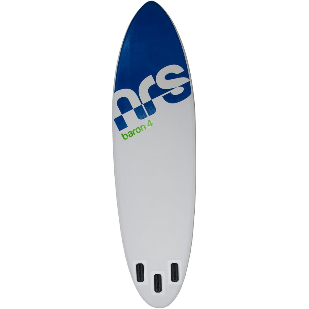 NRS Baron 4 Inflatable Standup Paddleboard - GREY/GREEN/BLUE