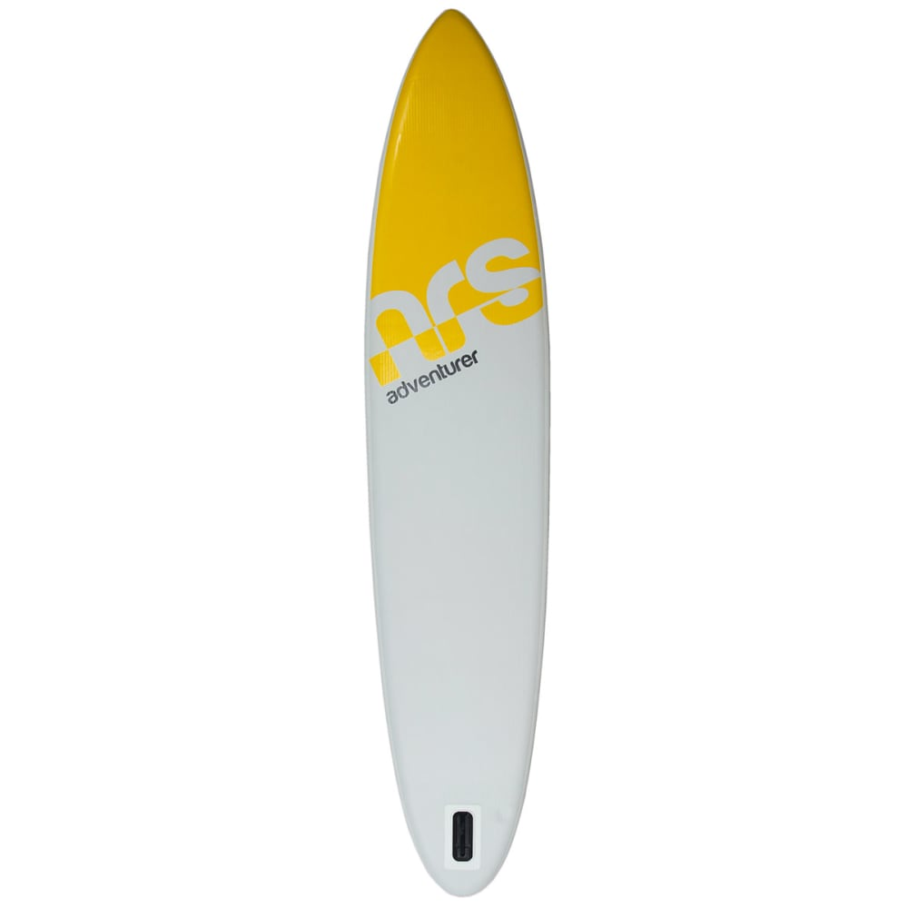 """NRS Adventurer Inflatable Paddleboard, 12' 6"""" - YELLOW/GRAY/BLACK"""