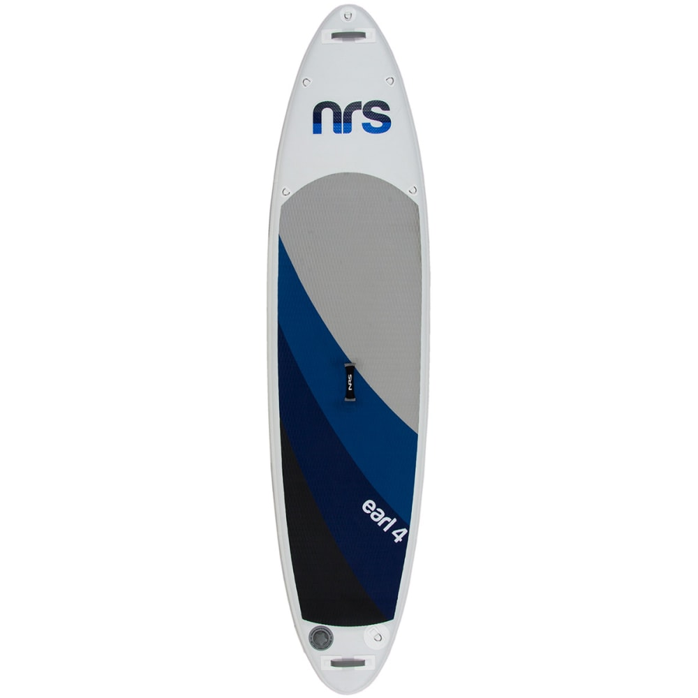 NRS Earl 4 Inflatable Standup Paddleboard - GREY/BLUE