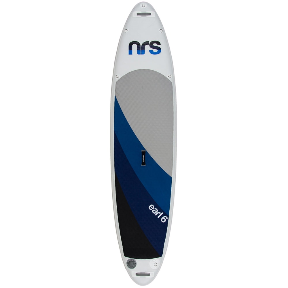 NRS Earl 6 Inflatable Standup Paddleboard - GRAY/BLUE