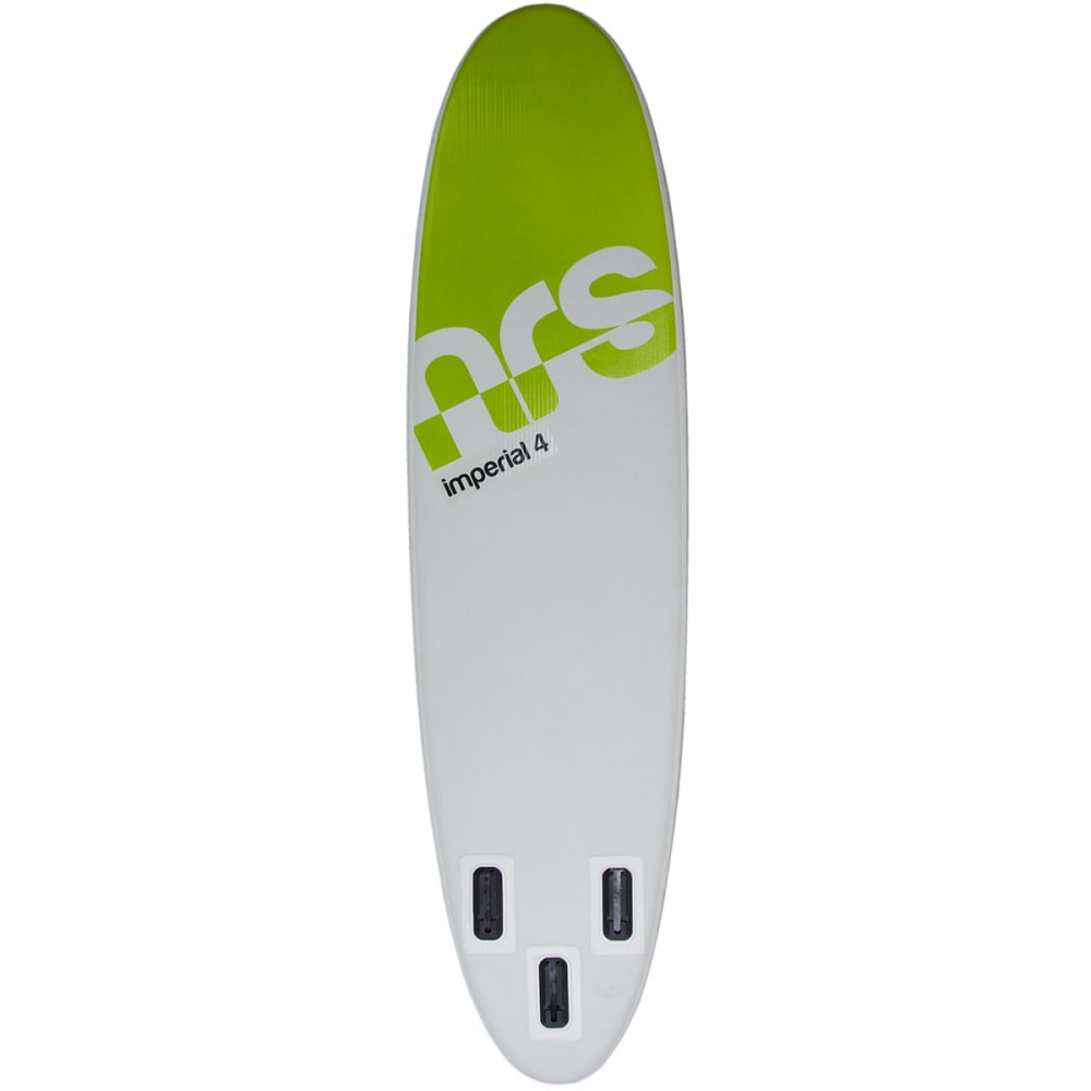 """NRS Imperial 4 Inflatable Paddleboard, 10' 6"""" - GRY/GRN/BLK"""