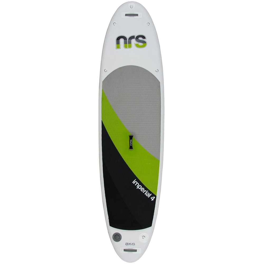 "NRS Imperial 4 Inflatable Paddleboard, 10' 6"" - GRY/GRN/BLK"