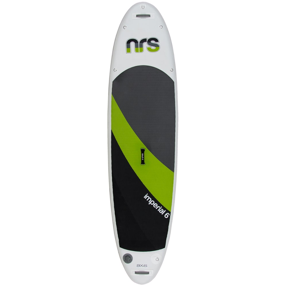 NRS Imperial 6 Inflatable Standup Paddleboard - GRY/GR/BK