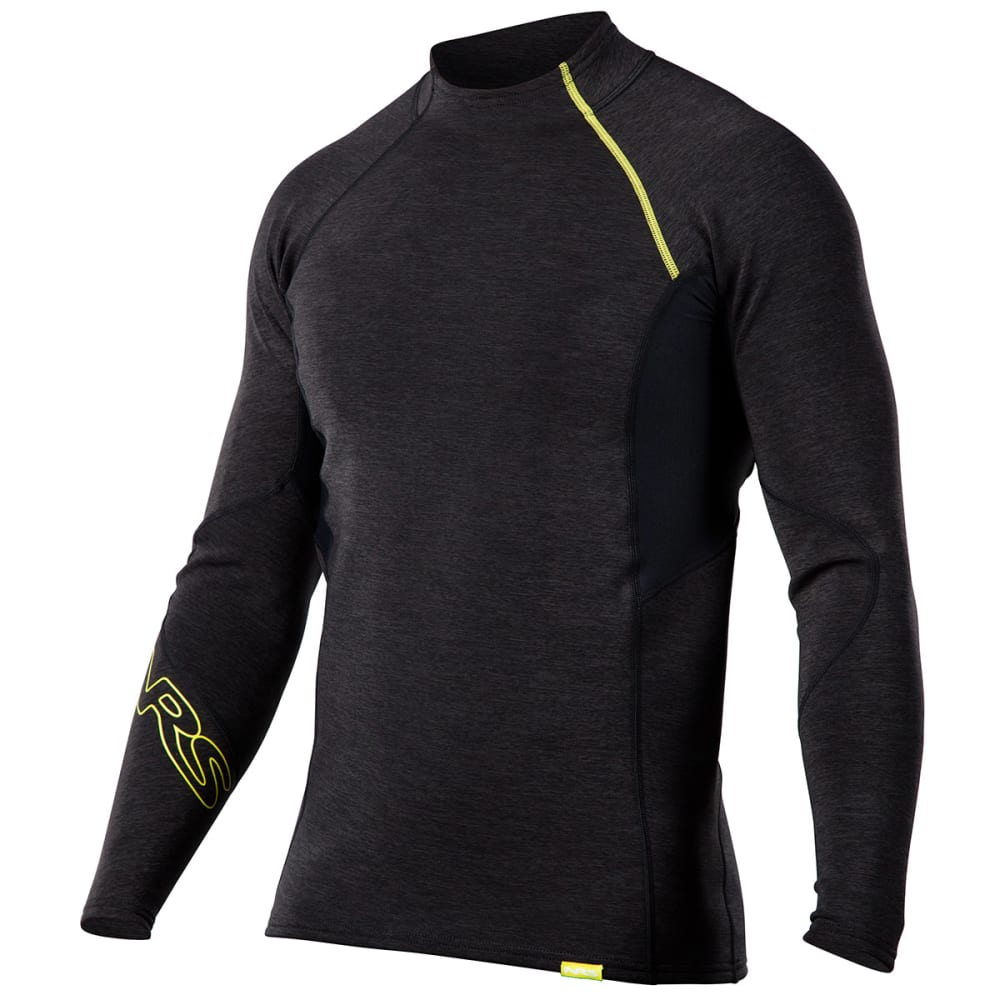 NRS Men's HydroSkin 0.5 Long-Sleeve Shirt - CHARCOAL HEATHER