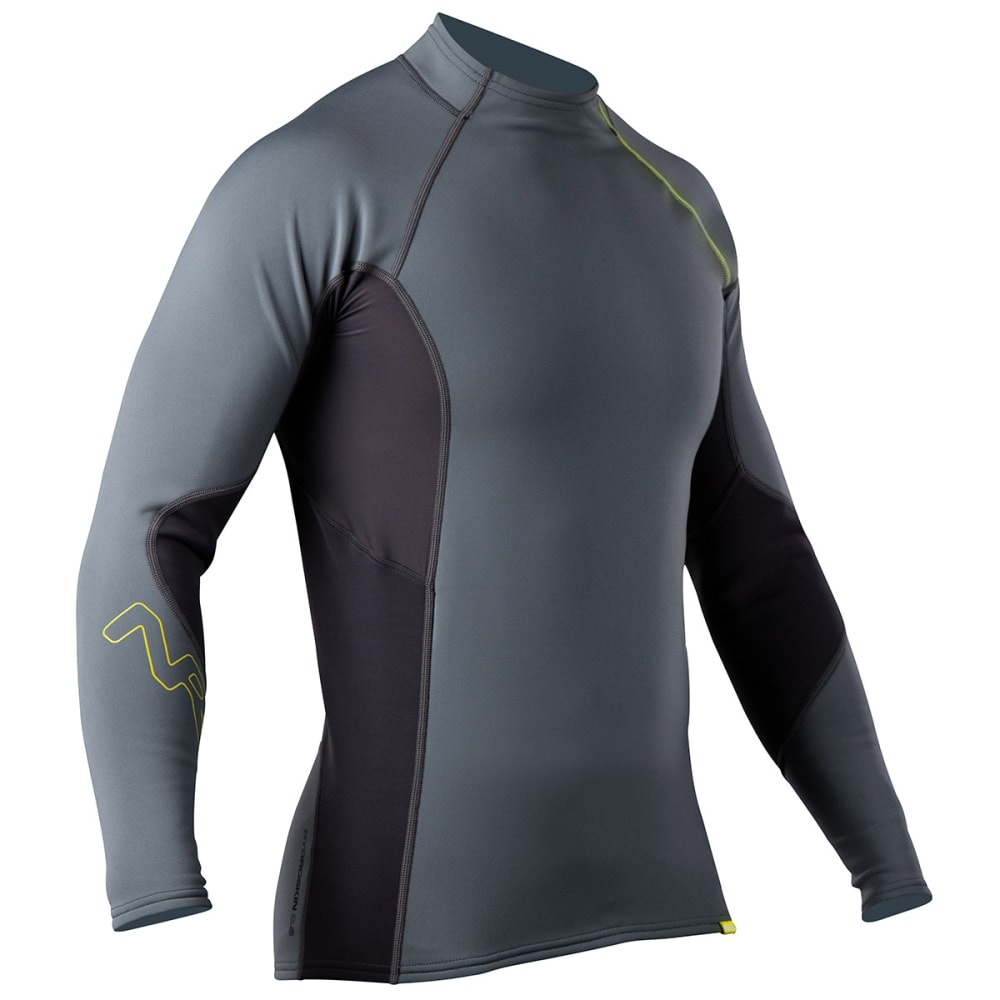 NRS Men's HydroSkin 0.5 Long-Sleeve Shirt - ASH GRAY