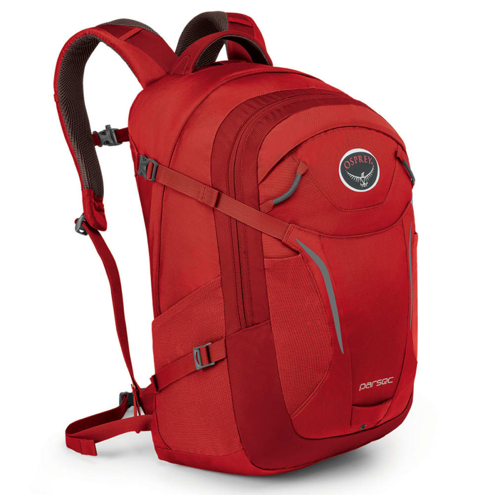 OSPREY Parsec Daypack - ROBUST RED