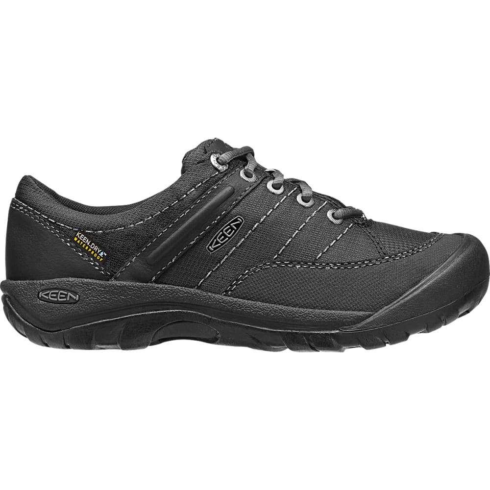 KEEN Women's Presidio Sport Mesh WP Shoes, Black - BLACK