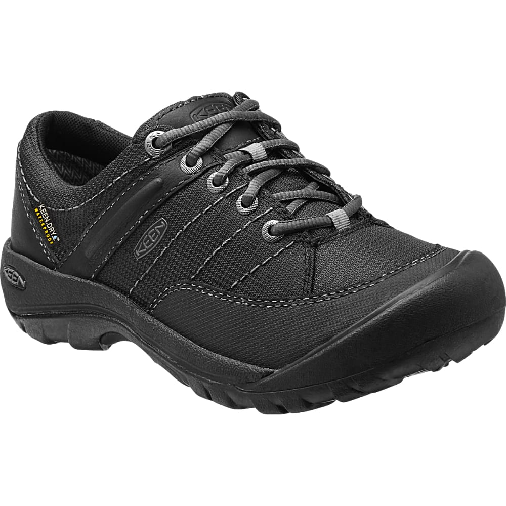 KEEN Women's Presidio Sport Mesh WP Shoes, Black - BLACK