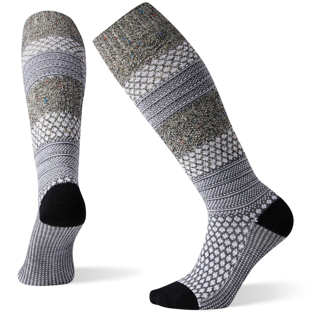 SMARTWOOL Women's Popcorn Cable Knee-High Socks M