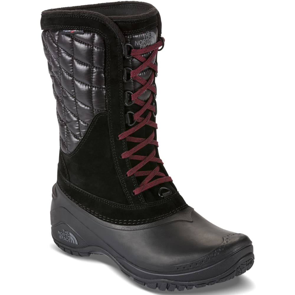 THE NORTH FACE Women's Thermoball Utility Mid Boots, Black - BLACK